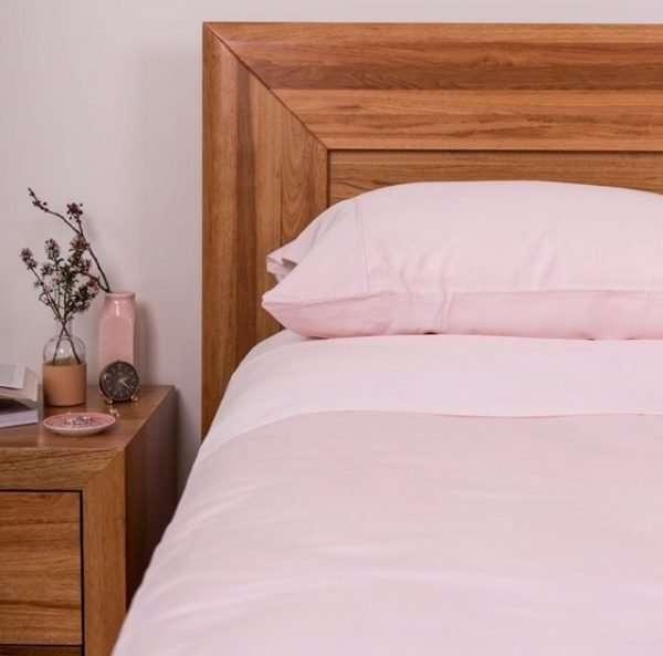 100% Organic Bamboo Sheet Set Blush