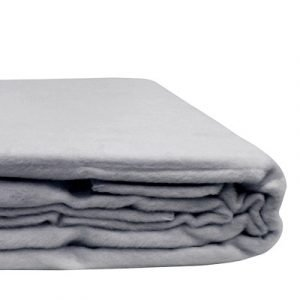 100% Organic Bamboo Blanket Ice Blue
