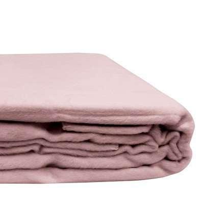 100% Organic Bamboo Blanket Rose Dust