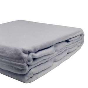 100% Organic Bamboo Blanket Artic Blue
