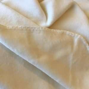 100% Organic Bamboo Blanket Ivory