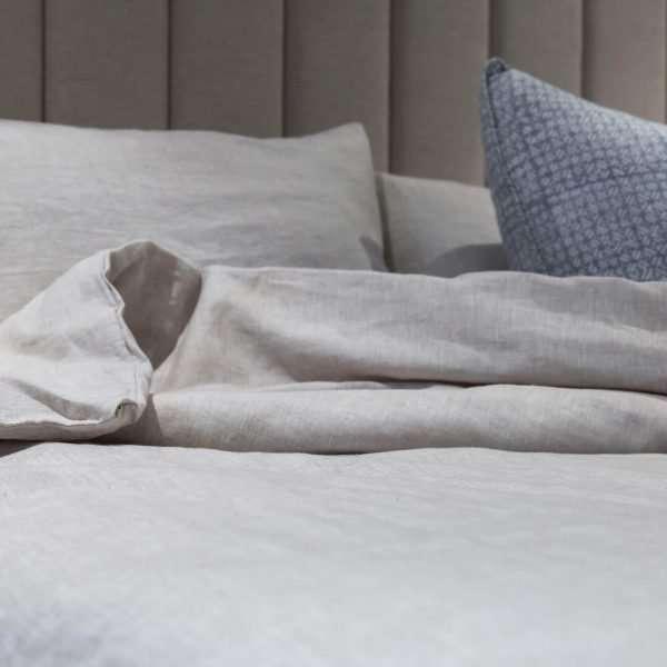 French Linen Duvet Cover Set Natural