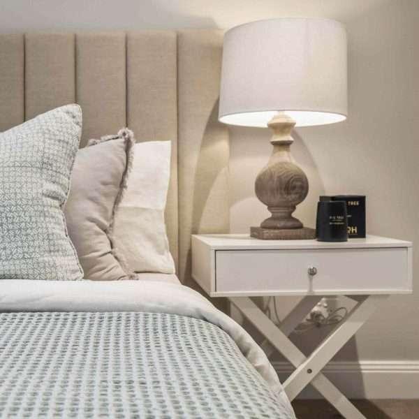 French Linen Duvet Cover Set White