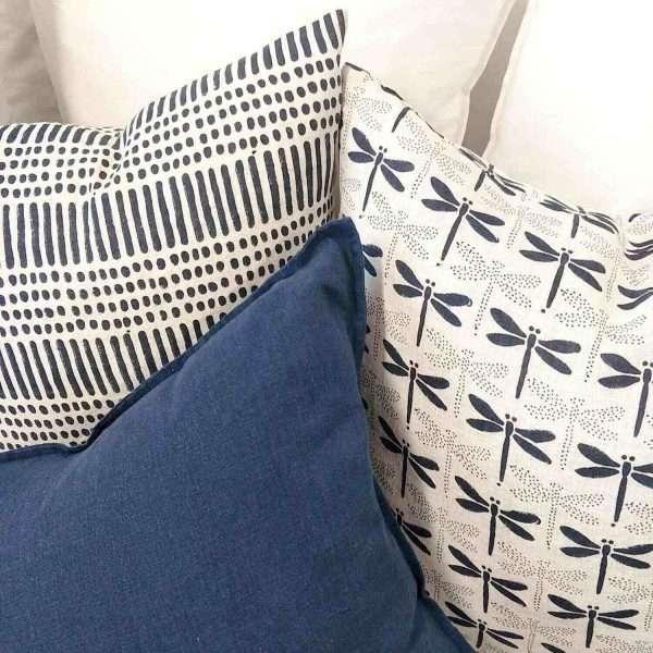 Japandi French Linen Cushion