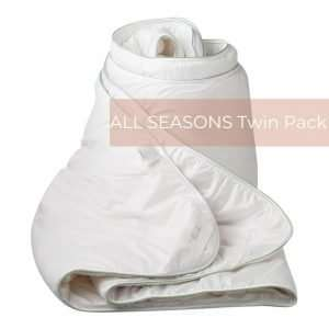 Bamboo Alpaca Quilt All Seasons Twin Pack