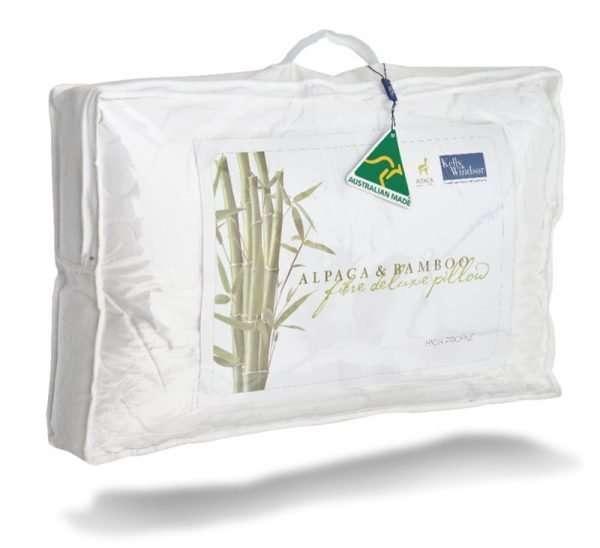 Bamboo Alpaca Pillow