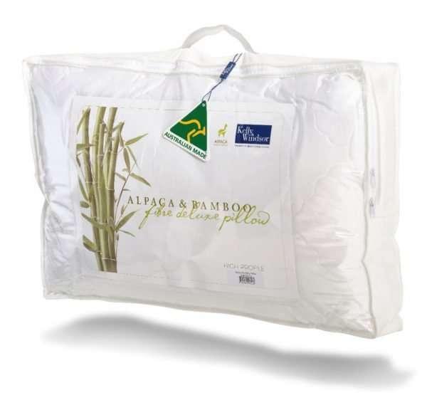 Bamboo Alpaca Pillow Twin Pack
