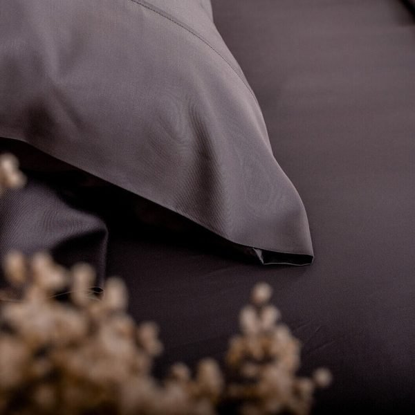 bamboo pillowcase set charcoal