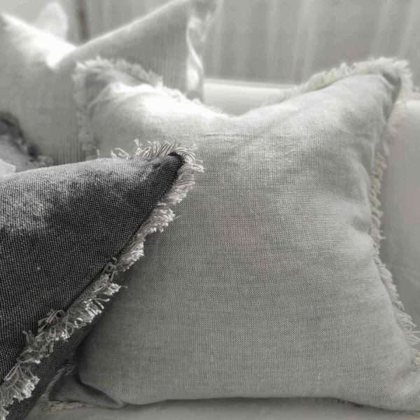 Cultiver Pure French Linen Cushion