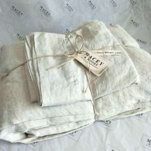 Pure French Linen Sheet Set Heavy Weight