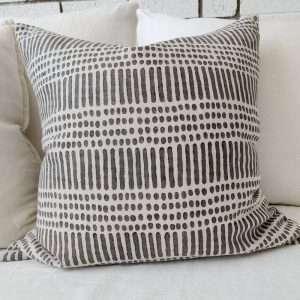 Kimpton French Linen Cushion Grey