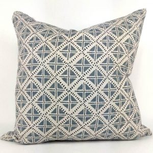 Northern Seas French Linen Cushion Slate Grey